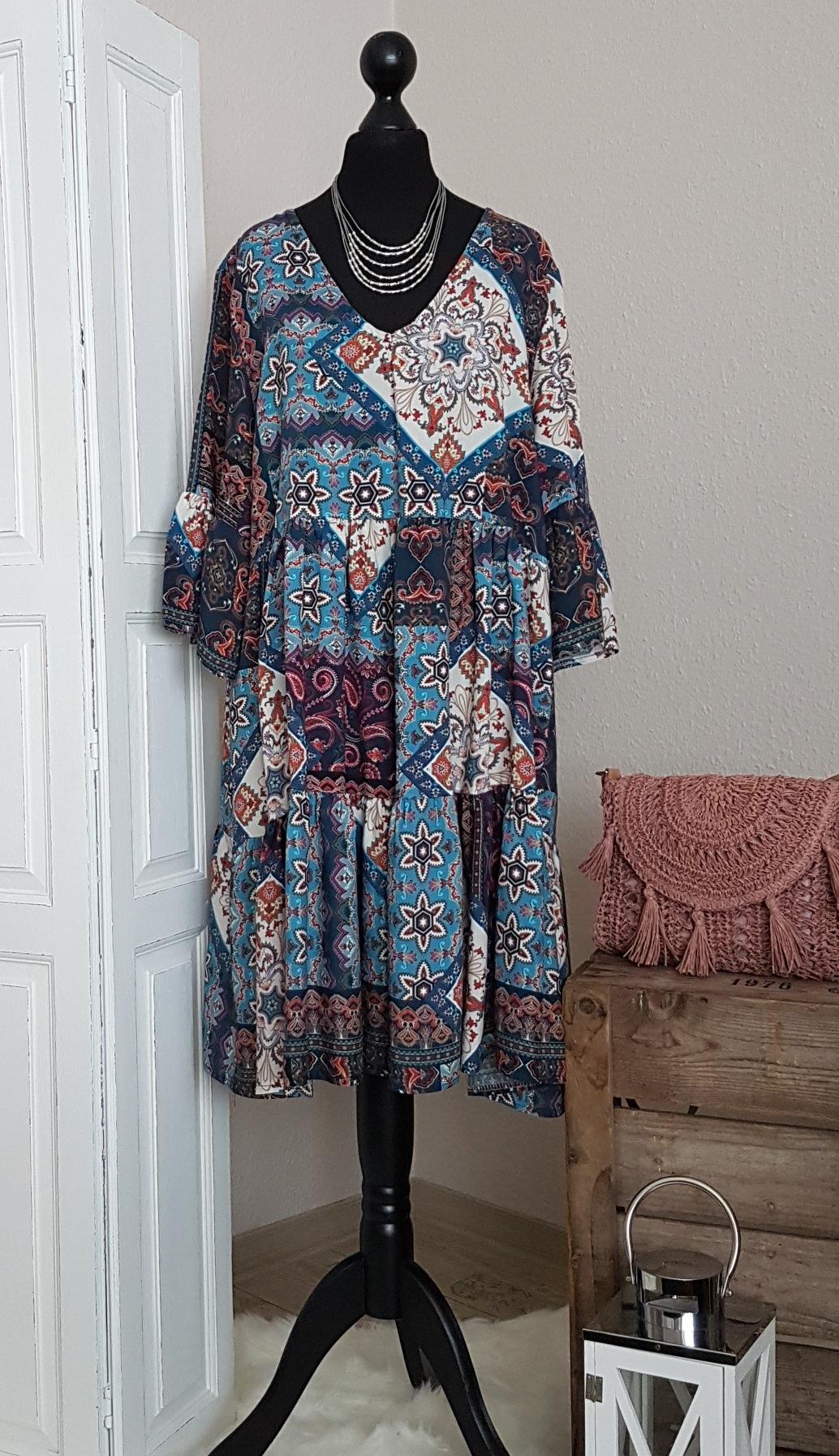 Leichtes oversize Hängerchen-Kleid / Long-Tunika - mit ...