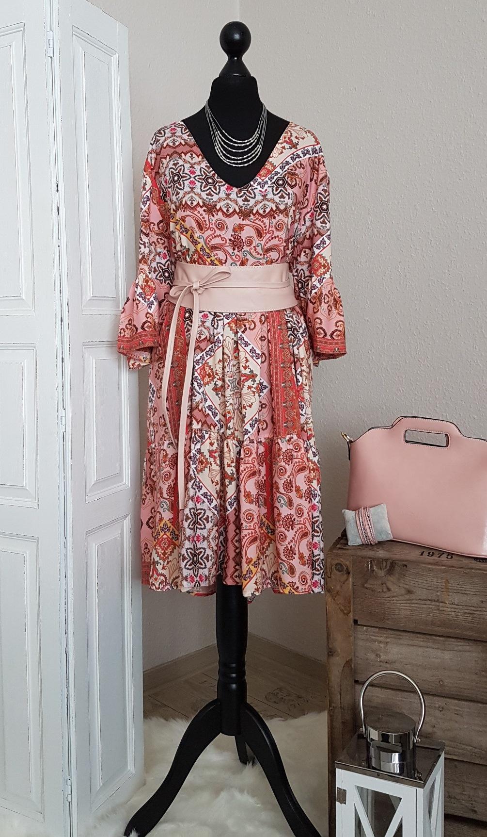 leichtes oversize hängerchen-kleid / long-tunika - mit