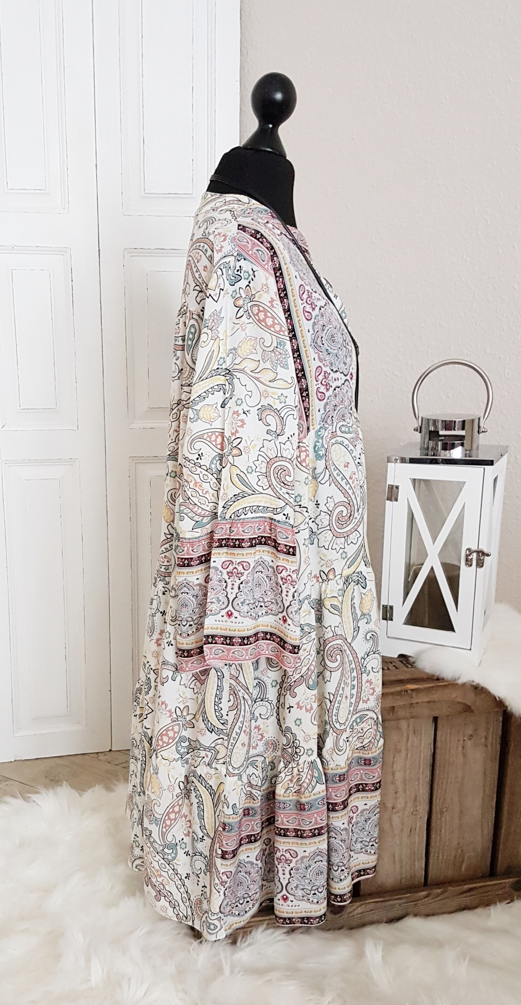 """Leichtes oversize Hängerchen-Kleid / Long-Tunika """"Indien ..."""